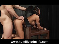 Humiliated Milf's Medical Punishment