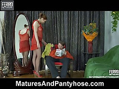 Rita&Rolf mature pantyhose action