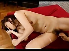 Milf fucked by young guy creampie on the bed other guy sleep