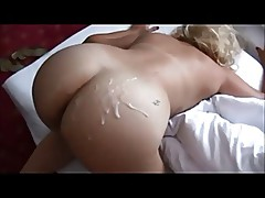 Booty milf on real homemade