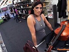Brazilian MILF likes big instruments