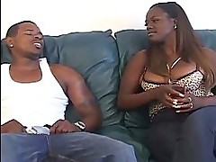 Big Black Momma Rides A Horny Bl...