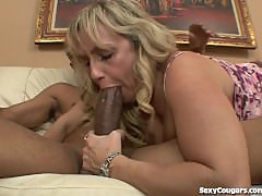 Blonde MILF Fucks A Black Dude
