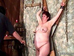 BDSM action game with BBW whore