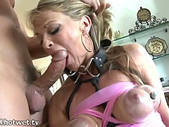 A Desperate Beautiful Housewife Giving A Forced Blowjob