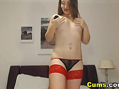 Busty MILF Shivers when She Orgasms