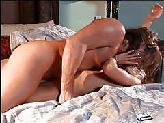 Horny mature bitch fucking in her uniform