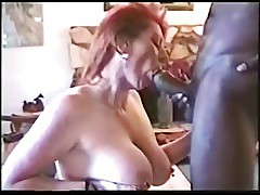 Mature wife invites black bull at home