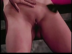 Girl spanks slut on her pussy