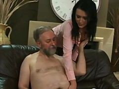 Mature Lad Fucks His Trophy Wife