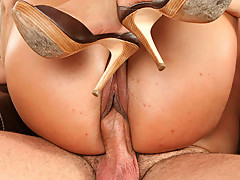 Famous pornstars Alexis Amore, Veronica Carso, Sadie Swede from Big Tits HDV getting dirty