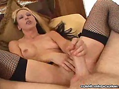 Lustful Mom Teasing A Cock