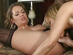 Nikki and Nicole Moore Milf Lesbians Pussy Play