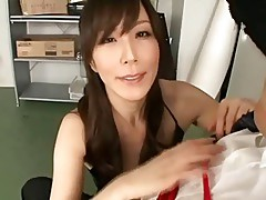 Japanese Milf could not help herself