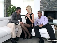 brazilian 19 year old freak fucked while MILF mom watches p2