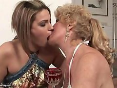 Best of old young lesbian love clip