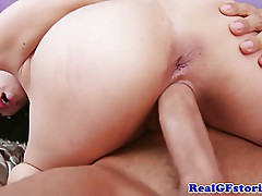 Big titted housewife milf pussy dusted