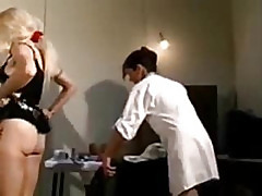 French mature fucked by 2 doctors