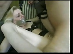 Horny French Granny & The Maid Take Serious Cock!!