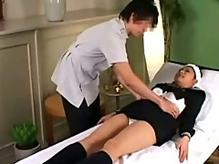 Beauty Parlor Massage Spycam