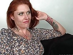 Mature hoe in stockings gets assets oil massaged