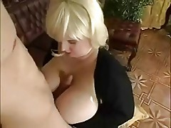 BBW Blonde Gets Fucked
