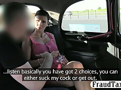 Big boobs amateur milf pussy stuffed by pervert driver