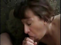 Mature Head #50 (Gagging On Cum)