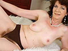 Busty hot mama fucks from the top