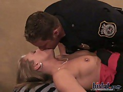 Porsha seduces this cop into anal sex