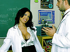 Hot milf teacher gets pounded by her student