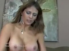 hot latina milf babe gets a deep creampie