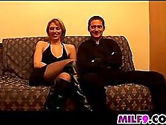 Beautiful Blonde Mother Anal Fucked