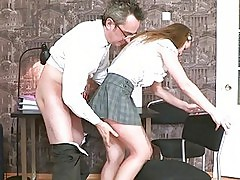 Fellatio for mature teacher