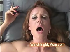 Hung black badass goes deep inside white busty cougars cunt