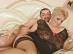 Beautiful Blonde Italian Shorthair-BBW-Granny fucked