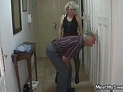 Perverted parents fuck his gf