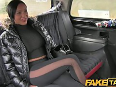 FakeTaxi Big tits babe sex with taxi driver
