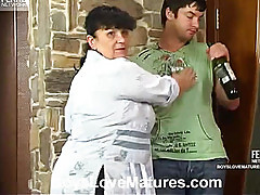 Aunt drunk guy undresses
