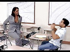Milf Teacher Bangs Her Student