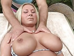 Busty stepmom Devon Lee has threesome
