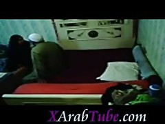 Arab hijab milf fucked by old guy