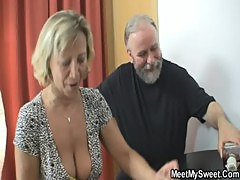 Her BF sleeps and she tries sex with his parents