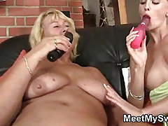 Hot sex at her birthday party
