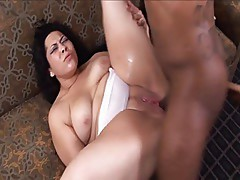 Latin MILF Nina Perez Gettin BBC Up Her Skirt