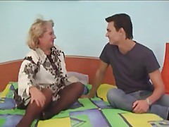 Russian mature and boy - 12