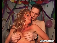 Amazing group party sex orgy