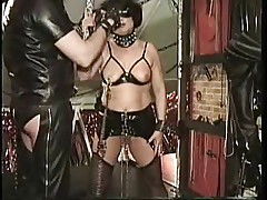 Chubby mature slave