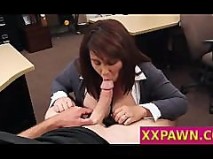 MILF Pawns Husband\'s Stuff for Bail $$$
