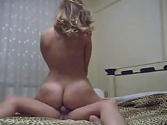Chubby MILF sis riding not her bro in Motel
